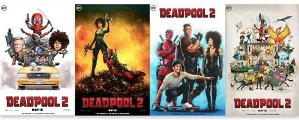 A series of exclusive NFTs released for the feature film Deadpool 2