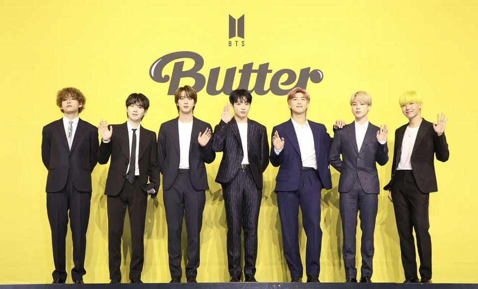 The new BTS hit 'Butter' has inspired many video reactions.