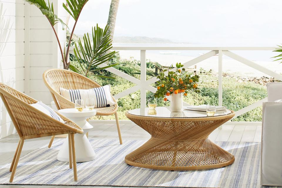 Memorial day furniture sales: Patio furniture on porch