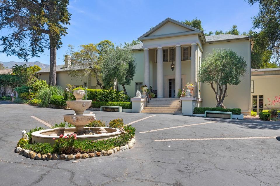 Opulent Estate from Montecito's Golden Era of Architecture 430 hot springs