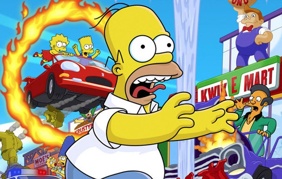 The Simpsons: Hit & Run cover art