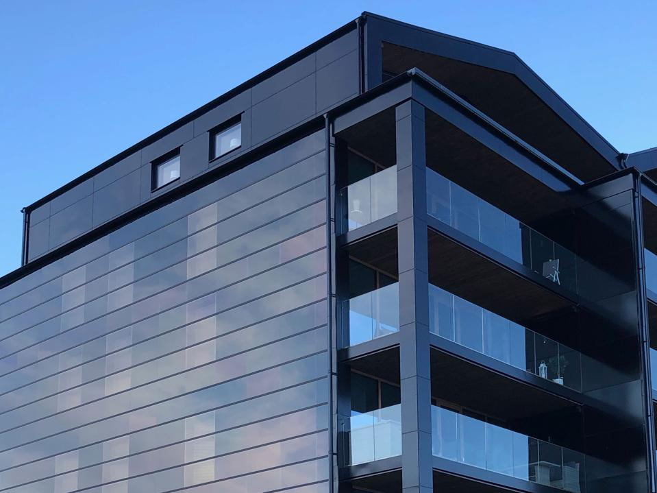 Solar facades are the up-and-coming solar market, says Soltech Energy