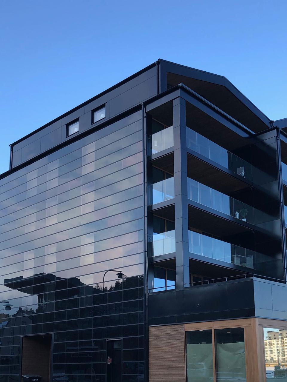Солнечные фасады-это перспективный солнечный рынок, говорит Soltech Energy