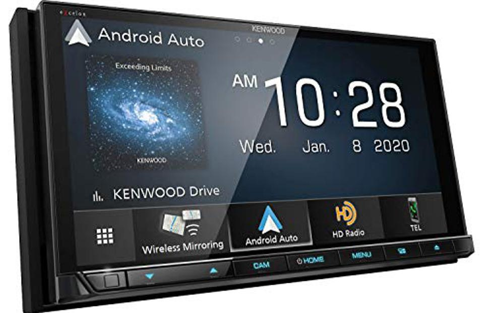 Kenwood Excelon DDX9907XR 6.8″ Capacitive Touch Panel DVD Receiver with Bluetooth & HD Radio   6.8″ High Definition Monitor   With Apple CarPlay and Android Auto