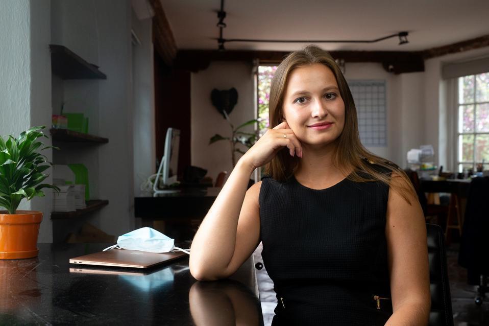 Valentina Rogacheva (Mexico), founder of Verqor