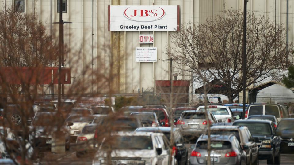 JBS, Greeley Beef Plant,