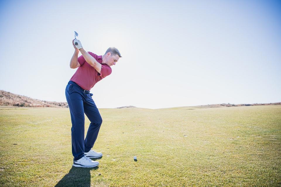 golfer wearing KJUS