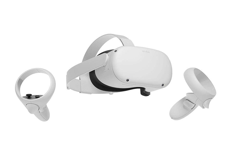 Oculus Quest 2 with controllers