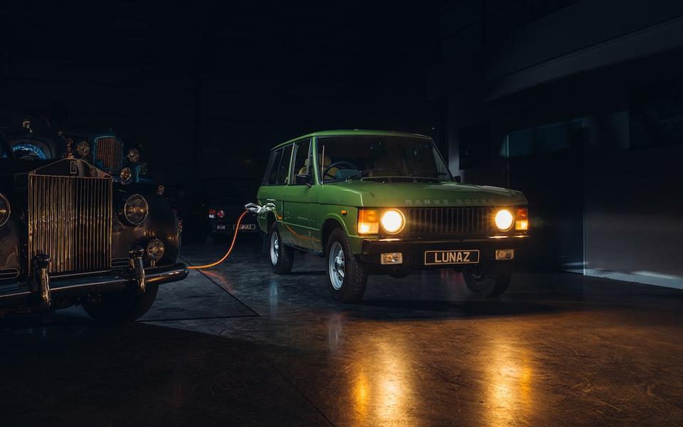 Range Rover Classic electrificado de Lunaz