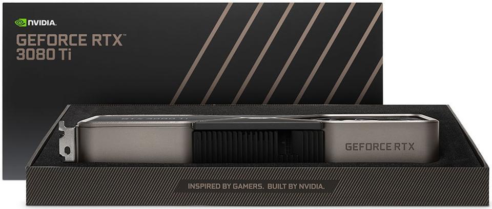 NVIDIA GeForce RTX 3080 Ti Founders Edition Retail Box