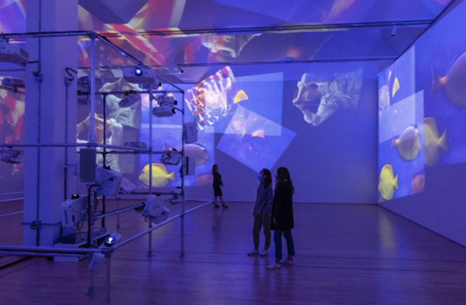 The American exhibition of Nam Joon Paik's work is the first in 20 years.