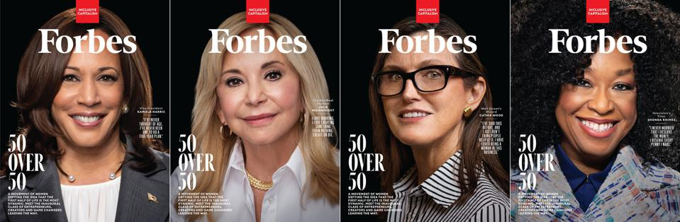 Forbes unveils inaugural 50 Over 50 List