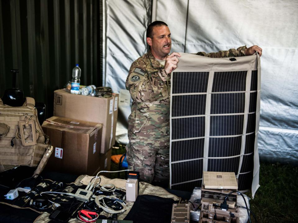 Solar War Games Set To Test Green Power Resilience For NATO