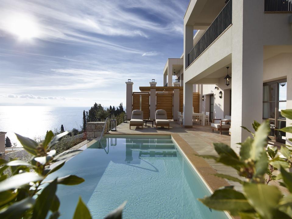 Pool villa in Corfu, Greece