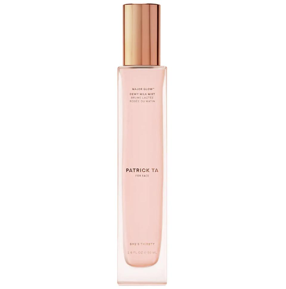 Set, Refresh And Protect Your Makeup With The 10 Best Setting Sprays- Patrick Ta Major Glow Dewy Milk Mist