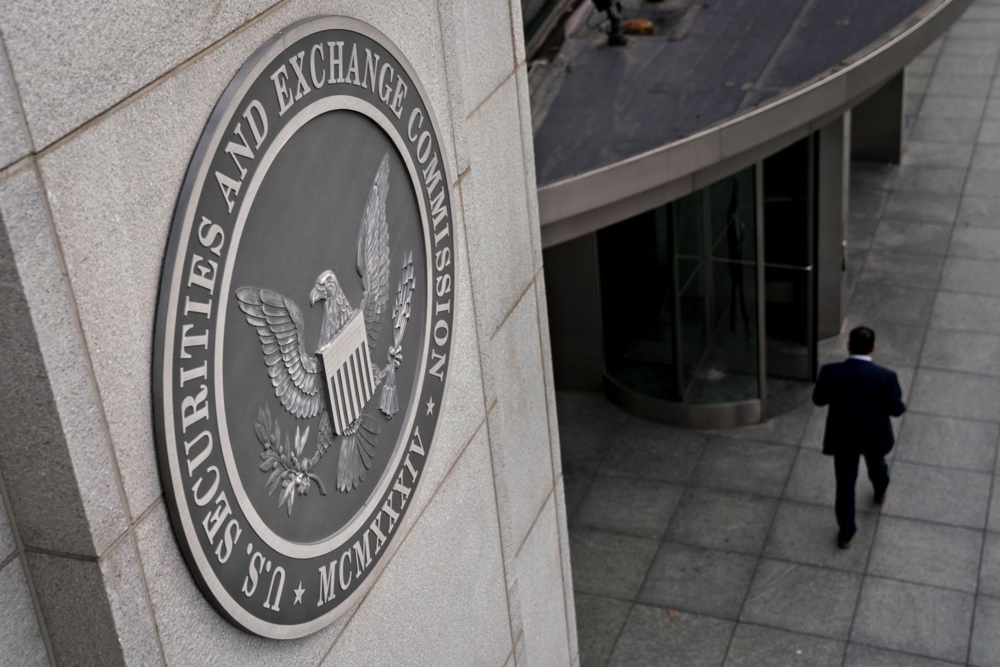 The U.S. Securities and Exchange Commission headquarters in Washington, D.C., U.S.