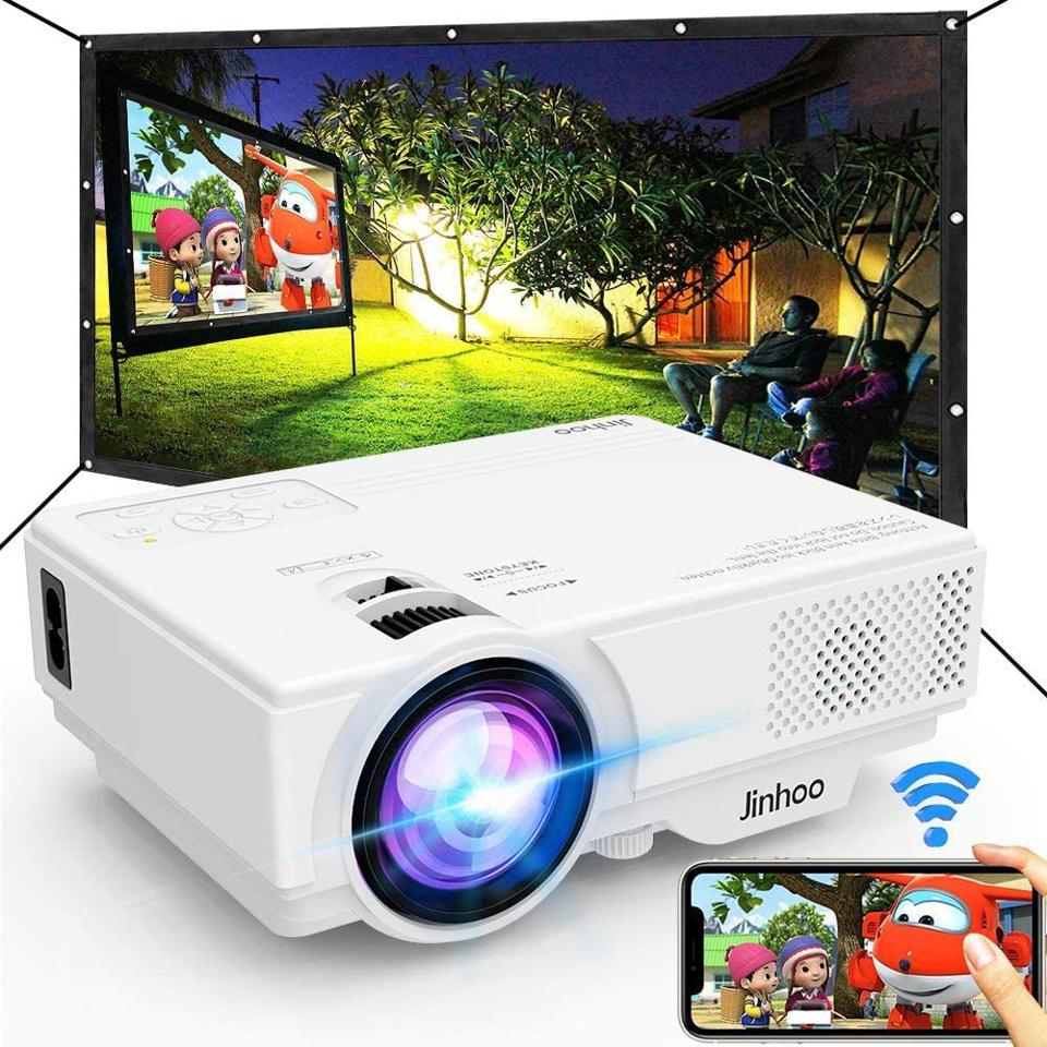 early Prime Day deals: Jinhoo Outdoor Movie Projector