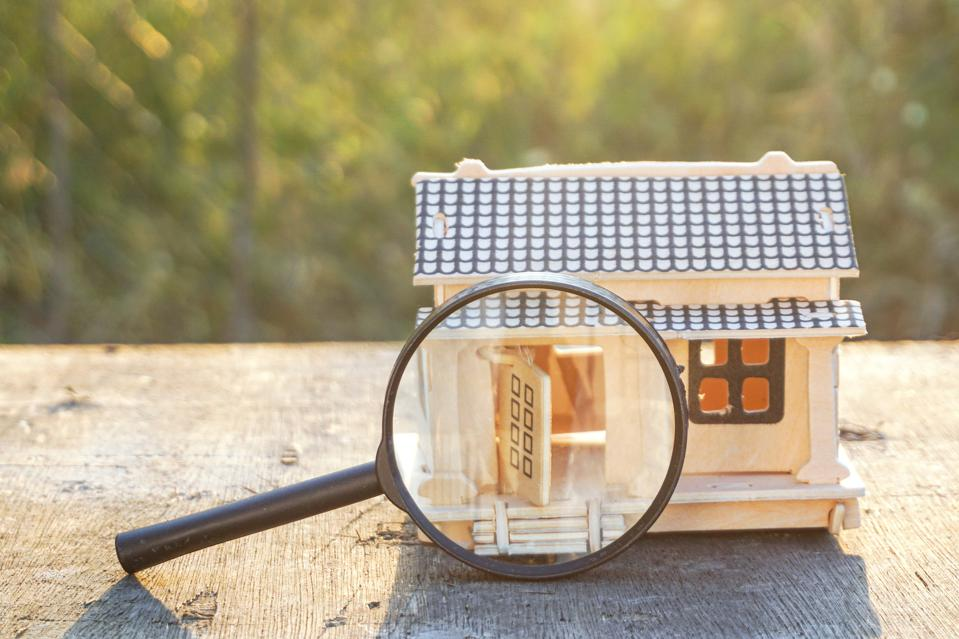 Conceptual image for research and developing on buying property  background image