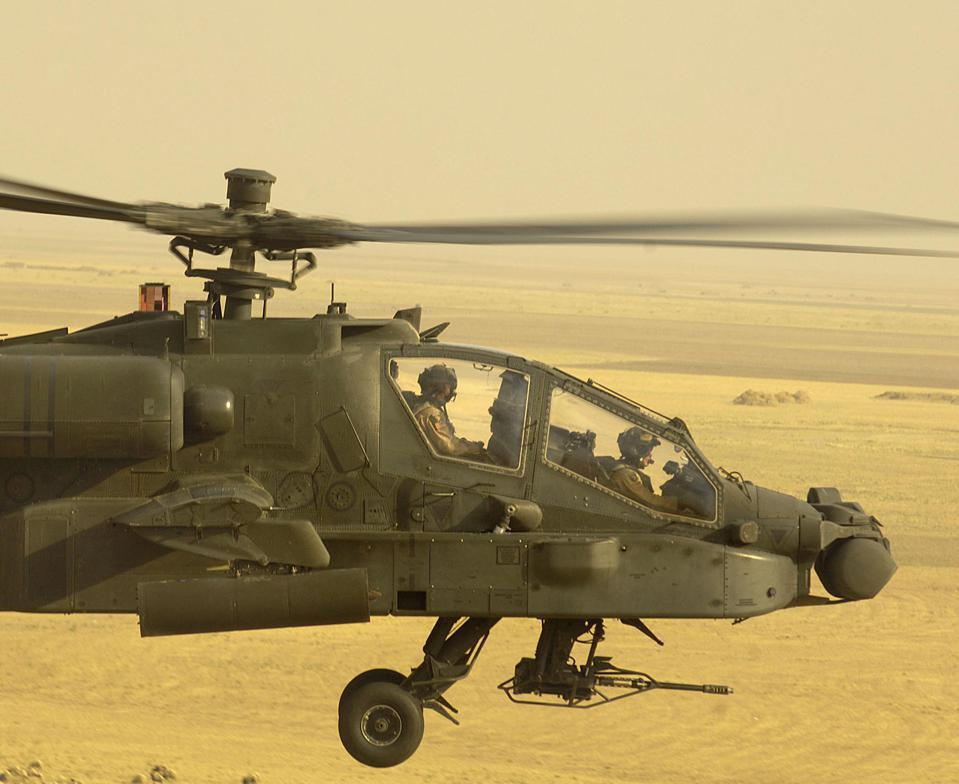 Nascar could provide a solution for uncomfortable seats in Apache helicopters.