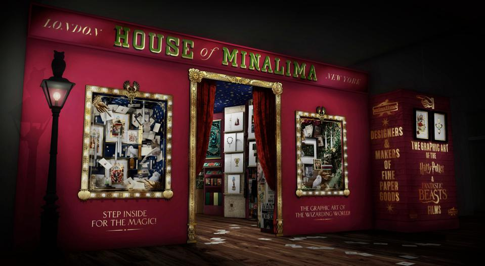 MinaLima House in Harry Potter New York