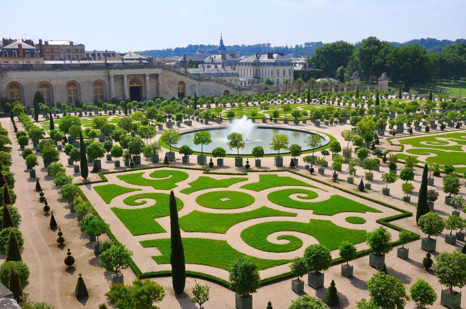 Versailles grounds