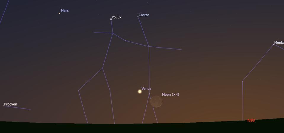 Jumat, 11 Juni 2021: Bulan Sabit dan Venus