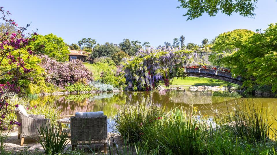 blooming gardens giverny monet villa nafissa rancho santa fe san diego