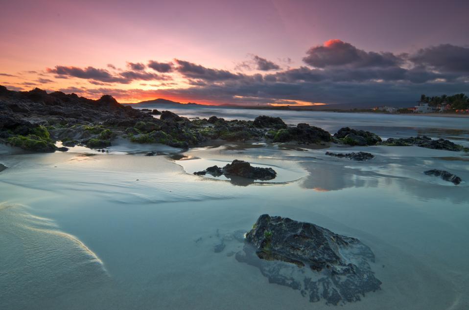 Impresionante vista de las Galápagos