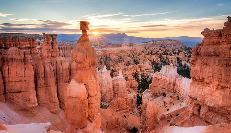 amanecer en Bryce Canyon