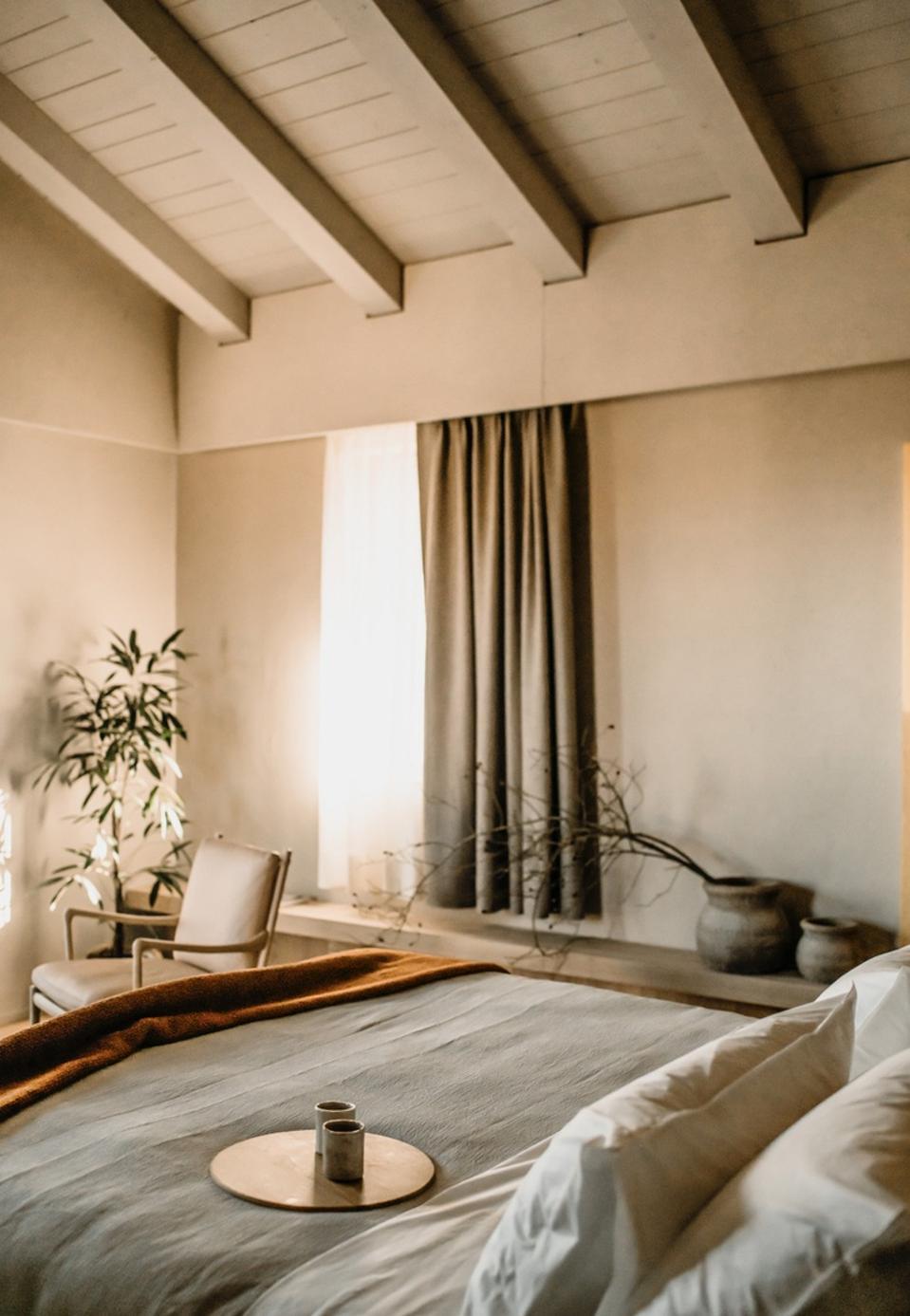 The nature-inspired interiors of Casa di Langa in Piedmont.