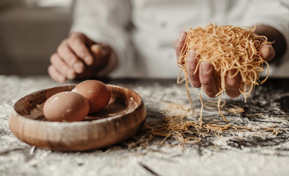 Cooking classes at Casa di Langa, Piedmont.