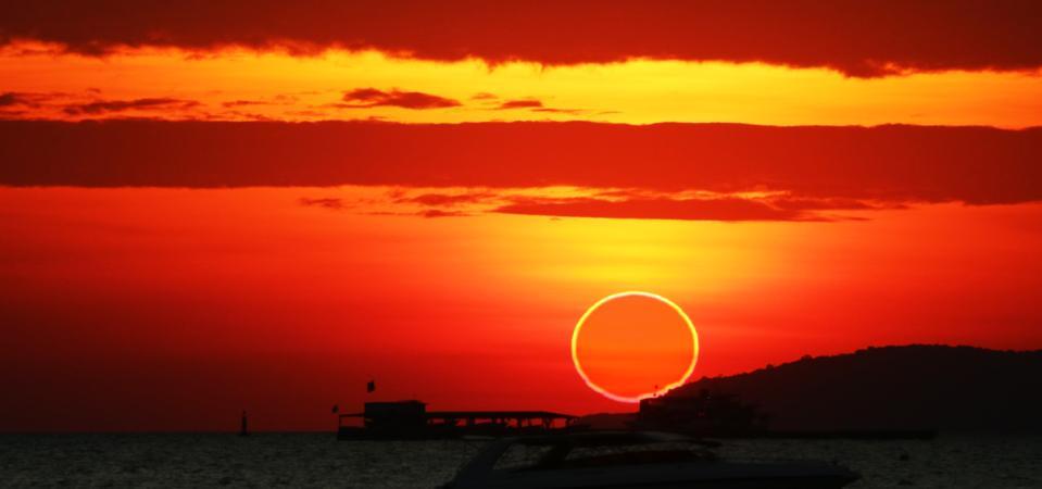 Partes de Canadá serán testigos de un eclipse solar anular al amanecer.