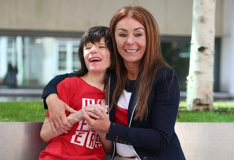 Cannabis activists Charlotte and Billy Caldwell