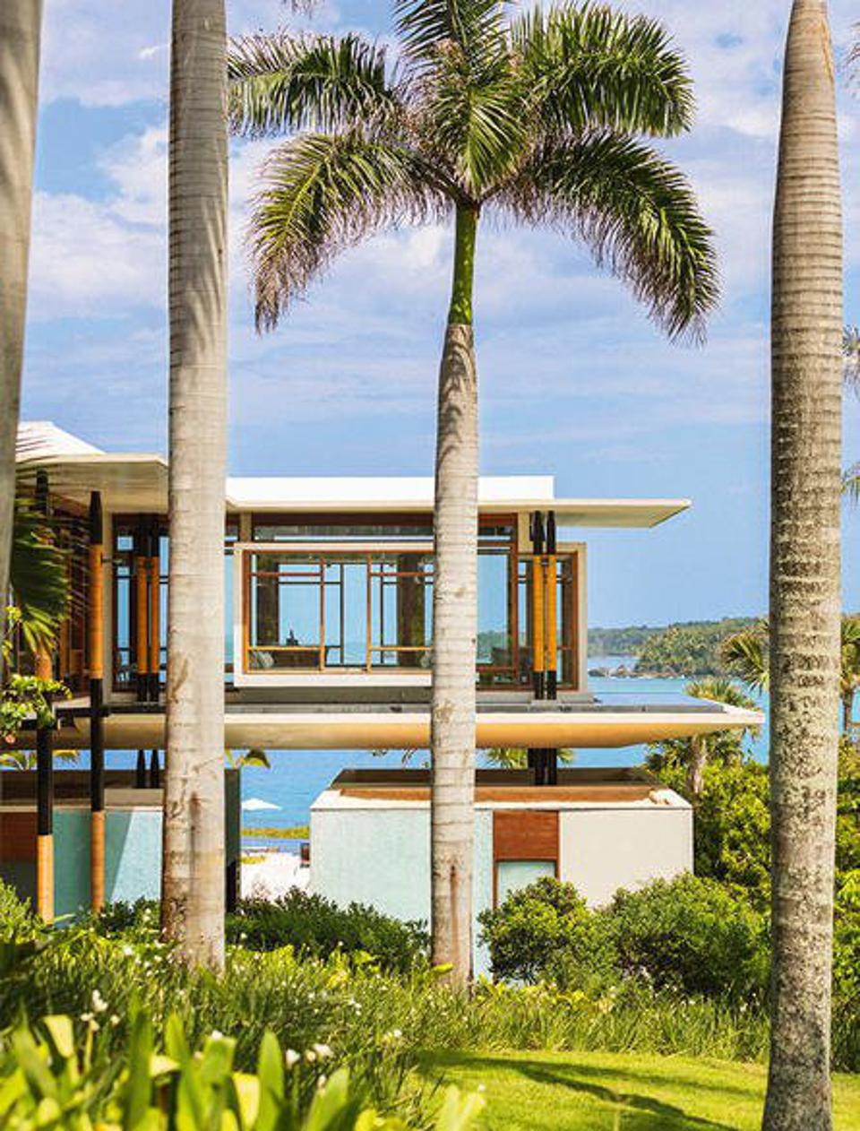 An exterior photo of Amanera resort in  Dominican Republic.