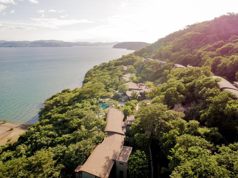 An exterior photo of Andaz Costa Rica Resort.