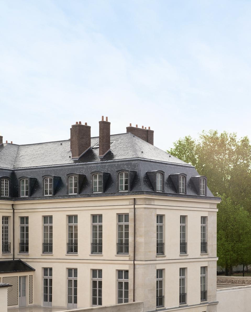 Le Grand Cantrell, dans l'enceinte du Château de Versailles.