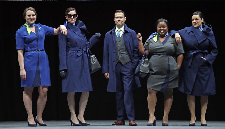 Alaska Airlines New Uniforms