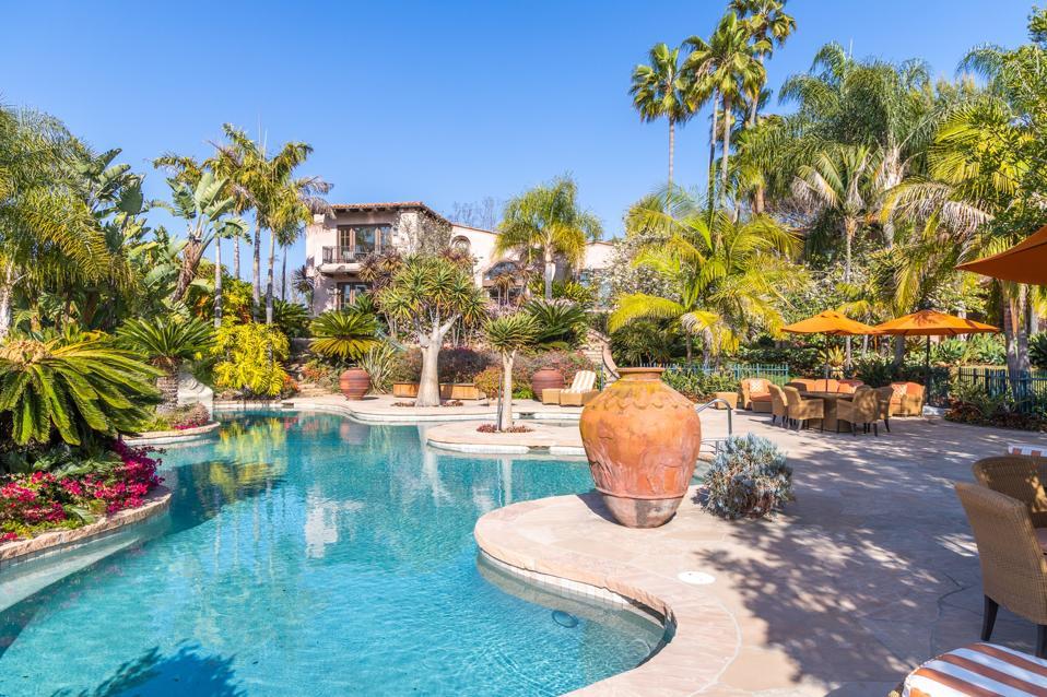 guesthouse at villa nafissa estate in rancho santa fe san diego