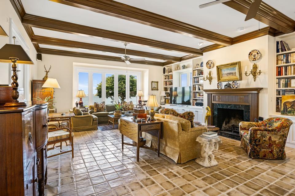 riomar home inside the living room at 649 Lake Drive Vero Beach, FL