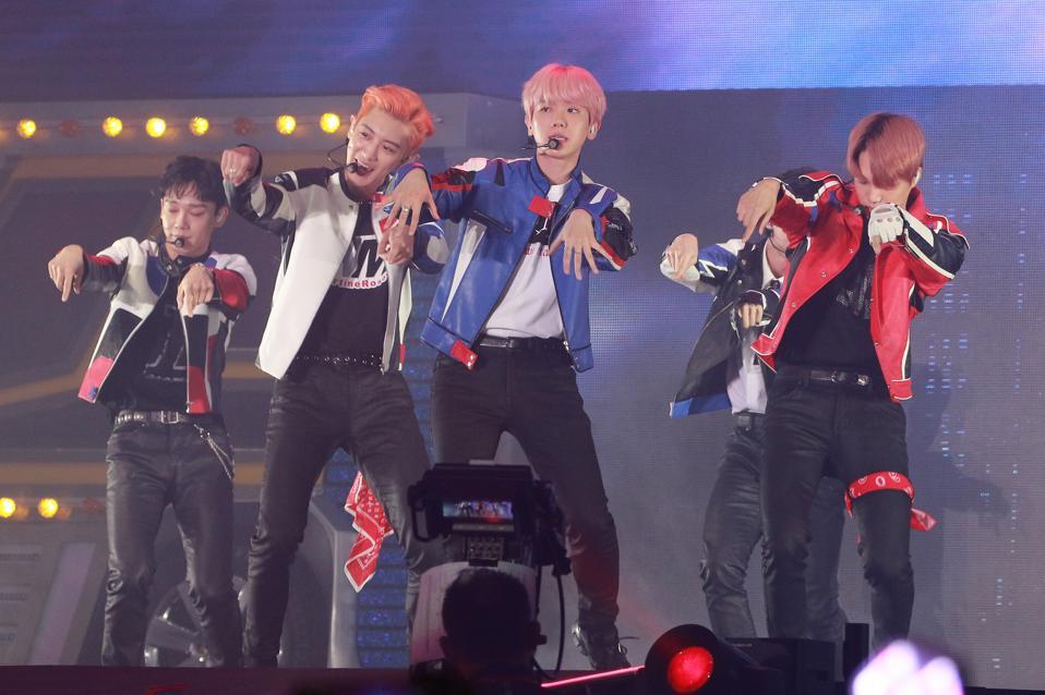 EXO Performs In Hong Kong