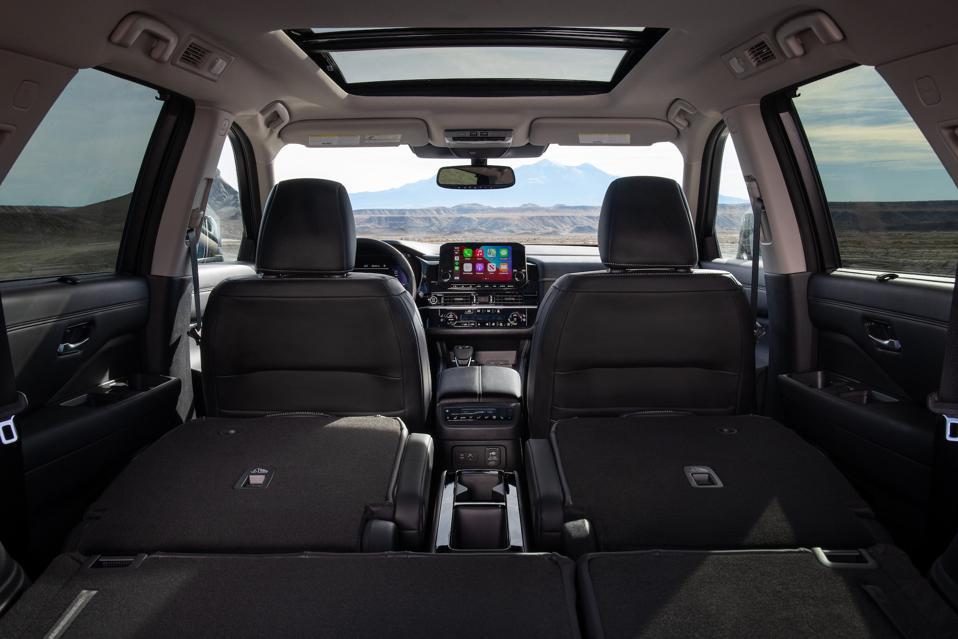 2022 Nissan Pathfinder Cargo Space