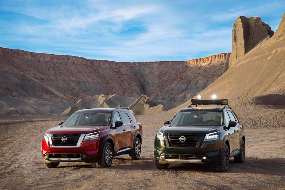 2022 Nissan Pathfinder Accessories