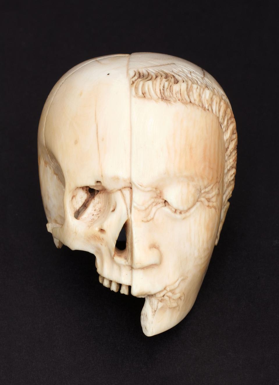Ivory memento mori. Europe, 1601-1900.