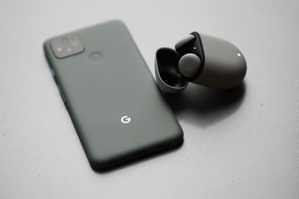 Google's Pixel 5 flagship smartphone