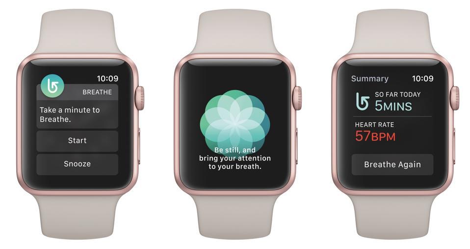 Respira en el Apple Watch.