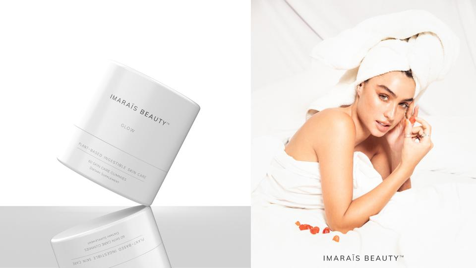 Sommer Ray is the face of a IMARAЇS Beauty, a new skin care gummy.