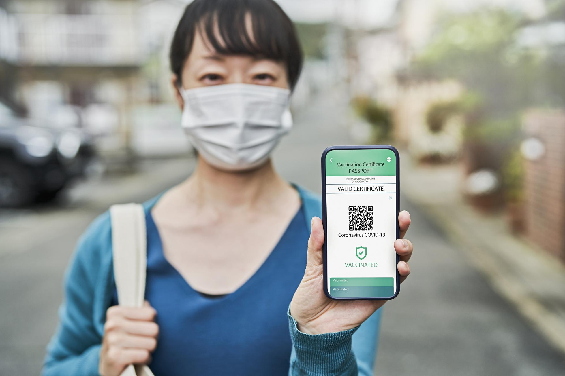 vaccine passport Japan