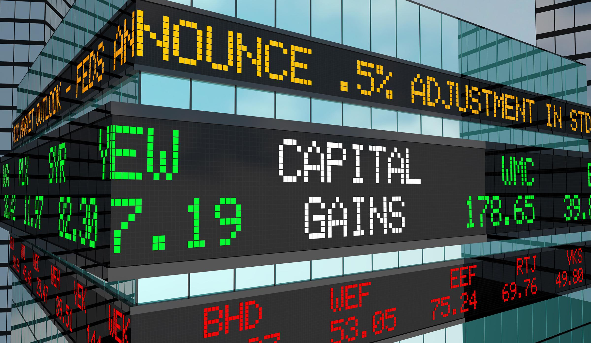 What Are Capital Gains?