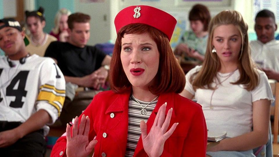 Elisa Donovan in a scene from the 1995 film Clueless