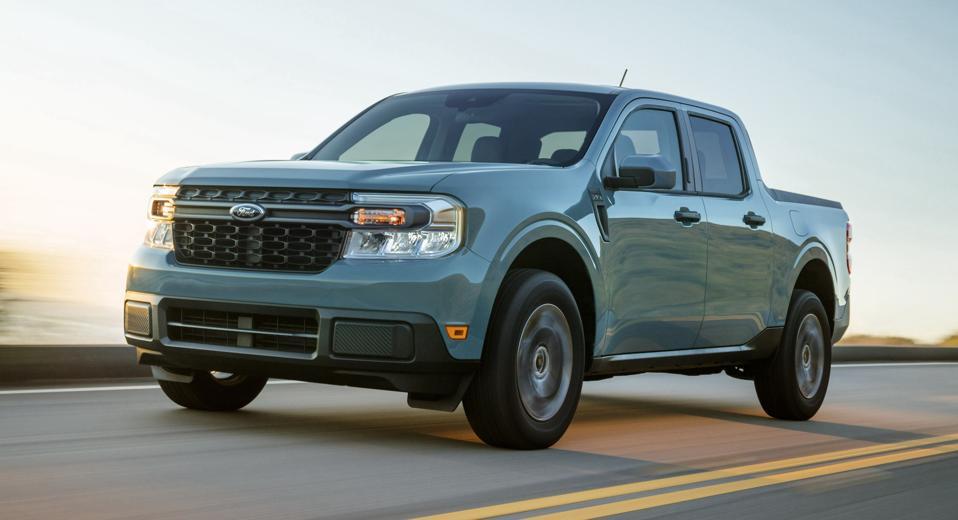 2022 Ford Maverick Front Driving